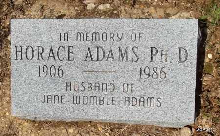 ADAMS, HORACE - Bradley County, Arkansas   HORACE ADAMS - Arkansas Gravestone Photos