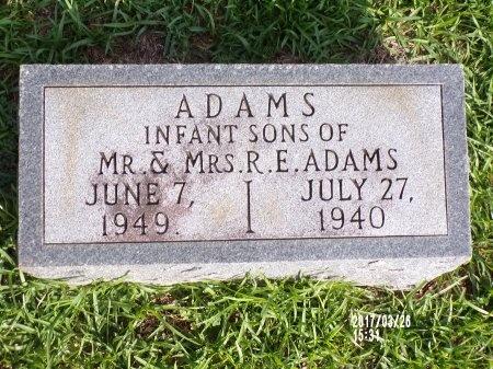 ADAMS, INFANT - Bradley County, Arkansas | INFANT ADAMS - Arkansas Gravestone Photos