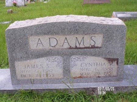 ADAMS, CYNTHIA M (CLOSE UP) - Bradley County, Arkansas | CYNTHIA M (CLOSE UP) ADAMS - Arkansas Gravestone Photos