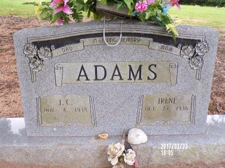 ADAMS, JOHN CLEVELAND - Bradley County, Arkansas | JOHN CLEVELAND ADAMS - Arkansas Gravestone Photos