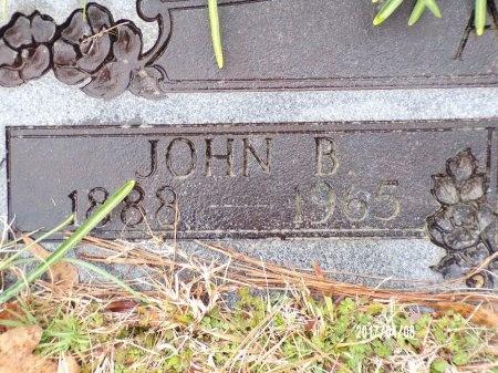ADAMS, JOHN BARBER (CLOSE UP) - Bradley County, Arkansas | JOHN BARBER (CLOSE UP) ADAMS - Arkansas Gravestone Photos