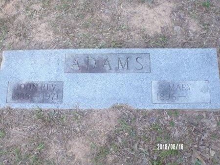 ADAMS, MARY - Bradley County, Arkansas | MARY ADAMS - Arkansas Gravestone Photos