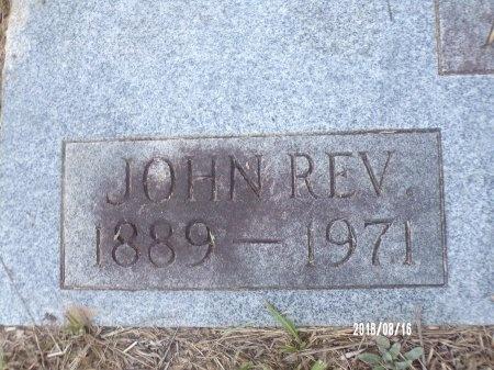 ADAMS, JOHN, REV (CLOSE UP) - Bradley County, Arkansas   JOHN, REV (CLOSE UP) ADAMS - Arkansas Gravestone Photos