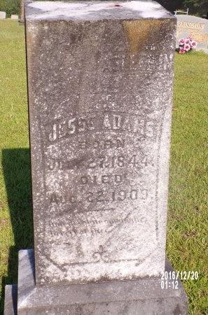 ADAMS, JESSE - Bradley County, Arkansas   JESSE ADAMS - Arkansas Gravestone Photos