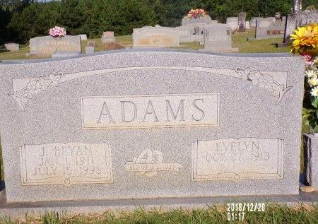 ADAMS, LILLIAN EVELYN - Bradley County, Arkansas | LILLIAN EVELYN ADAMS - Arkansas Gravestone Photos