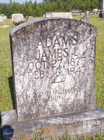 ADAMS, JAMES LONZO - Bradley County, Arkansas   JAMES LONZO ADAMS - Arkansas Gravestone Photos