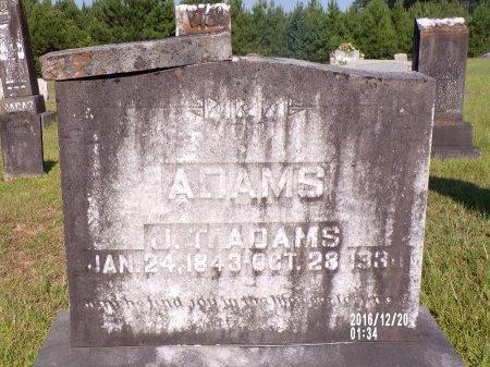 ADAMS, JOHN THOMAS - Bradley County, Arkansas   JOHN THOMAS ADAMS - Arkansas Gravestone Photos