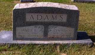 ADAMS, JAMES SELVIN - Bradley County, Arkansas   JAMES SELVIN ADAMS - Arkansas Gravestone Photos