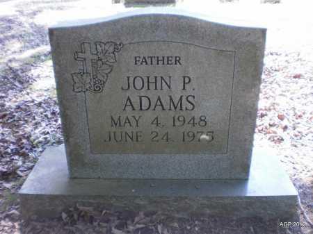 ADAMS, JOHN P - Bradley County, Arkansas   JOHN P ADAMS - Arkansas Gravestone Photos