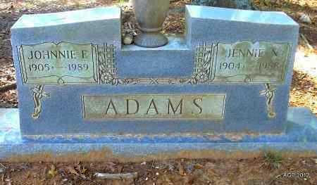 ADAMS, JOHNNIE E - Bradley County, Arkansas | JOHNNIE E ADAMS - Arkansas Gravestone Photos