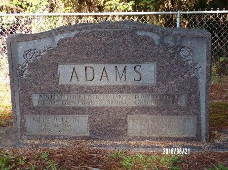 ADAMS, MELVER LEON - Bradley County, Arkansas | MELVER LEON ADAMS - Arkansas Gravestone Photos