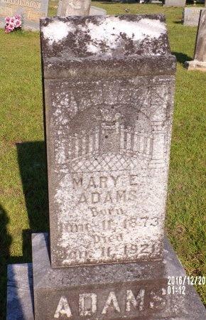 ADAMS, MARY E - Bradley County, Arkansas | MARY E ADAMS - Arkansas Gravestone Photos