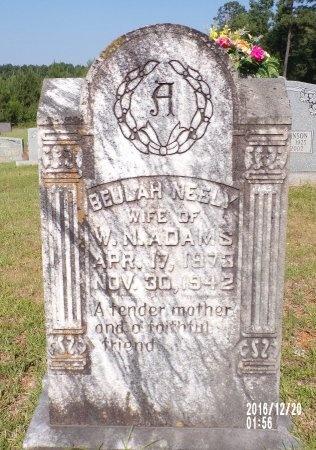 ADAMS, MARY BEULAH - Bradley County, Arkansas | MARY BEULAH ADAMS - Arkansas Gravestone Photos