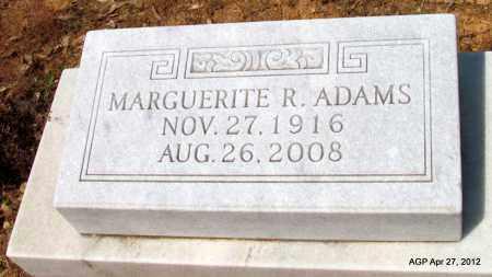 ADAMS, MARGUERITE R - Bradley County, Arkansas | MARGUERITE R ADAMS - Arkansas Gravestone Photos