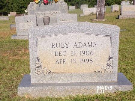 ADAMS, RUBY - Bradley County, Arkansas | RUBY ADAMS - Arkansas Gravestone Photos