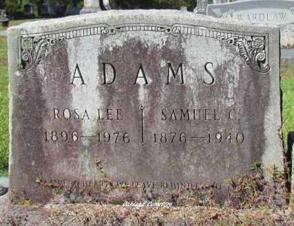 ADAMS, SAMUEL C - Bradley County, Arkansas   SAMUEL C ADAMS - Arkansas Gravestone Photos
