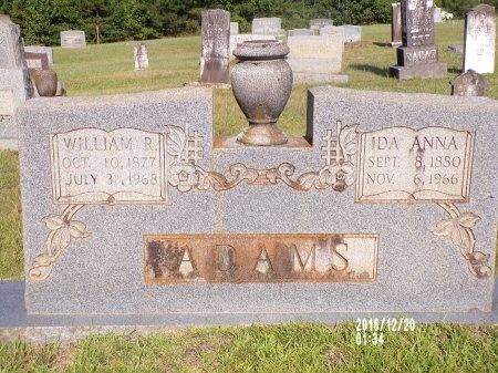 ADAMS, WILLIAM R - Bradley County, Arkansas | WILLIAM R ADAMS - Arkansas Gravestone Photos