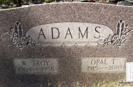 ADAMS, OPAL T - Bradley County, Arkansas   OPAL T ADAMS - Arkansas Gravestone Photos