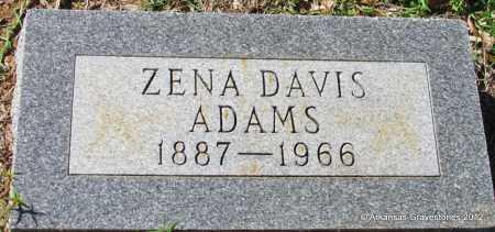 ADAMS, ZENA - Bradley County, Arkansas   ZENA ADAMS - Arkansas Gravestone Photos