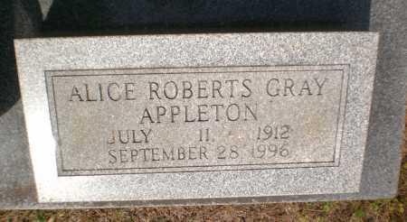 GRAY, ALICE - Bradley County, Arkansas | ALICE GRAY - Arkansas Gravestone Photos