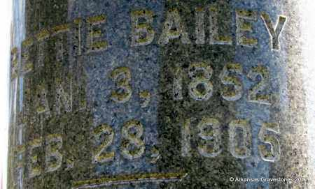 BAILEY, BETTIE (CLOSEUP) - Bradley County, Arkansas | BETTIE (CLOSEUP) BAILEY - Arkansas Gravestone Photos