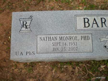 BARRETT, NATHAN MONROE - Bradley County, Arkansas | NATHAN MONROE BARRETT - Arkansas Gravestone Photos