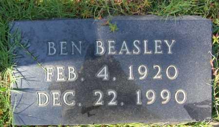 BEASLEY, BEN - Bradley County, Arkansas | BEN BEASLEY - Arkansas Gravestone Photos