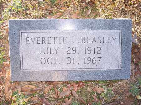 BEASLEY, EVERETTE L - Bradley County, Arkansas | EVERETTE L BEASLEY - Arkansas Gravestone Photos