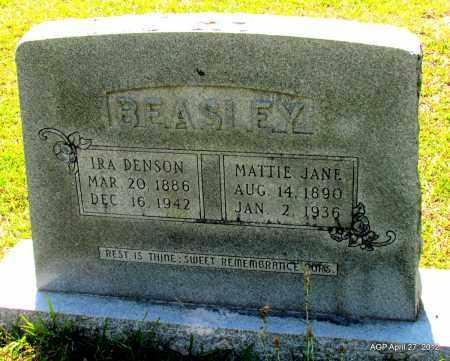 BEASLEY, MATTIE JANE - Bradley County, Arkansas | MATTIE JANE BEASLEY - Arkansas Gravestone Photos