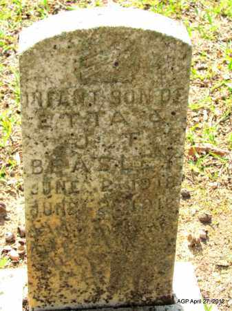 BEASLEY, INFANT - Bradley County, Arkansas   INFANT BEASLEY - Arkansas Gravestone Photos
