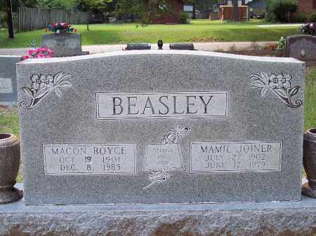 BEASLEY, MACON ROYCE - Bradley County, Arkansas | MACON ROYCE BEASLEY - Arkansas Gravestone Photos