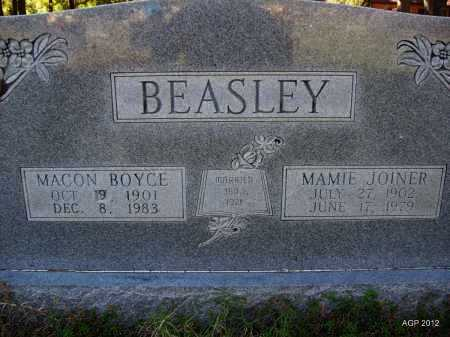 BEASLEY, MACON BOYCE - Bradley County, Arkansas | MACON BOYCE BEASLEY - Arkansas Gravestone Photos
