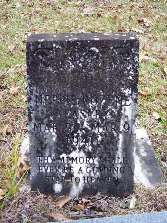 BEASLEY, NEPPIE ROZENE (OLD MARKER) - Bradley County, Arkansas   NEPPIE ROZENE (OLD MARKER) BEASLEY - Arkansas Gravestone Photos