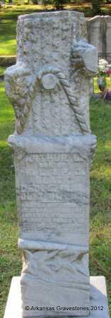 BLACK, ARTHUR L - Bradley County, Arkansas | ARTHUR L BLACK - Arkansas Gravestone Photos