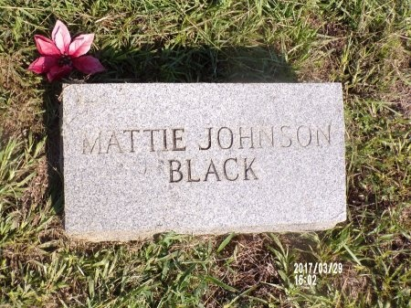 BLACK, MATTIE - Bradley County, Arkansas | MATTIE BLACK - Arkansas Gravestone Photos