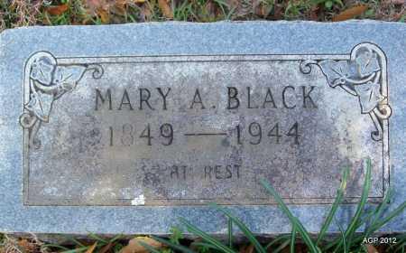 BLACK, MARY A - Bradley County, Arkansas | MARY A BLACK - Arkansas Gravestone Photos