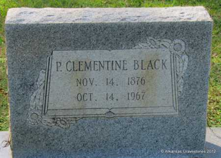 BLACK, P CLEMENTINE - Bradley County, Arkansas | P CLEMENTINE BLACK - Arkansas Gravestone Photos
