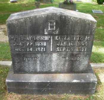 BLANKINSHIP, ELIZABETH M - Bradley County, Arkansas | ELIZABETH M BLANKINSHIP - Arkansas Gravestone Photos