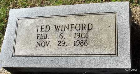 BOLLAND, TED WINFORD - Bradley County, Arkansas | TED WINFORD BOLLAND - Arkansas Gravestone Photos