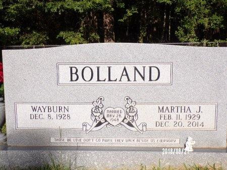 BOLLAND, WAYBURN - Bradley County, Arkansas | WAYBURN BOLLAND - Arkansas Gravestone Photos