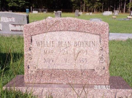 BOYKIN, WILLIE JEAN - Bradley County, Arkansas   WILLIE JEAN BOYKIN - Arkansas Gravestone Photos