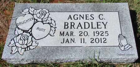BRADLEY, AGNES C - Bradley County, Arkansas | AGNES C BRADLEY - Arkansas Gravestone Photos