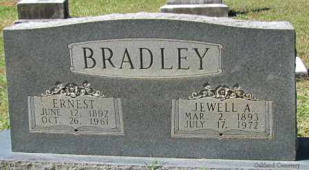 BRADLEY, ERNEST - Bradley County, Arkansas | ERNEST BRADLEY - Arkansas Gravestone Photos