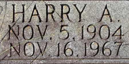 BRADLEY, HARRY A (CLOSE UP) - Bradley County, Arkansas   HARRY A (CLOSE UP) BRADLEY - Arkansas Gravestone Photos