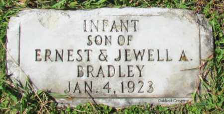 BRADLEY, INFANT SON - Bradley County, Arkansas   INFANT SON BRADLEY - Arkansas Gravestone Photos