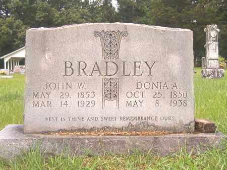 BRADLEY, JOHN W - Bradley County, Arkansas   JOHN W BRADLEY - Arkansas Gravestone Photos