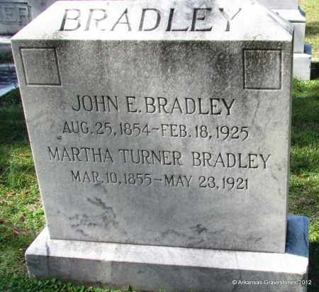 BRADLEY, JOHN E - Bradley County, Arkansas | JOHN E BRADLEY - Arkansas Gravestone Photos