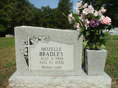 BRADLEY, MOZELLE - Bradley County, Arkansas | MOZELLE BRADLEY - Arkansas Gravestone Photos