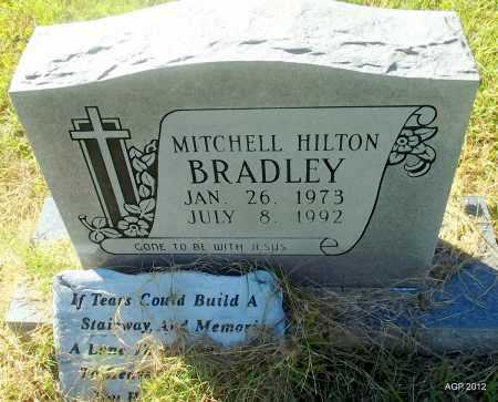 BRADLEY, MITCHELL HILTON - Bradley County, Arkansas   MITCHELL HILTON BRADLEY - Arkansas Gravestone Photos