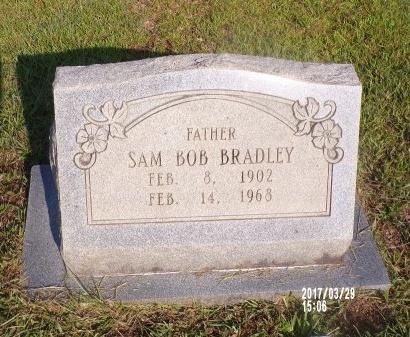 BRADLEY, SAM BOB - Bradley County, Arkansas   SAM BOB BRADLEY - Arkansas Gravestone Photos